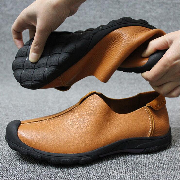 2019 Inferior Oxford Gentleman partido Bussiness Vestido mocassim Loafers Shoes Dandelion sapatilha de Luxo Homens Red Lazer Moda Plano 38-45