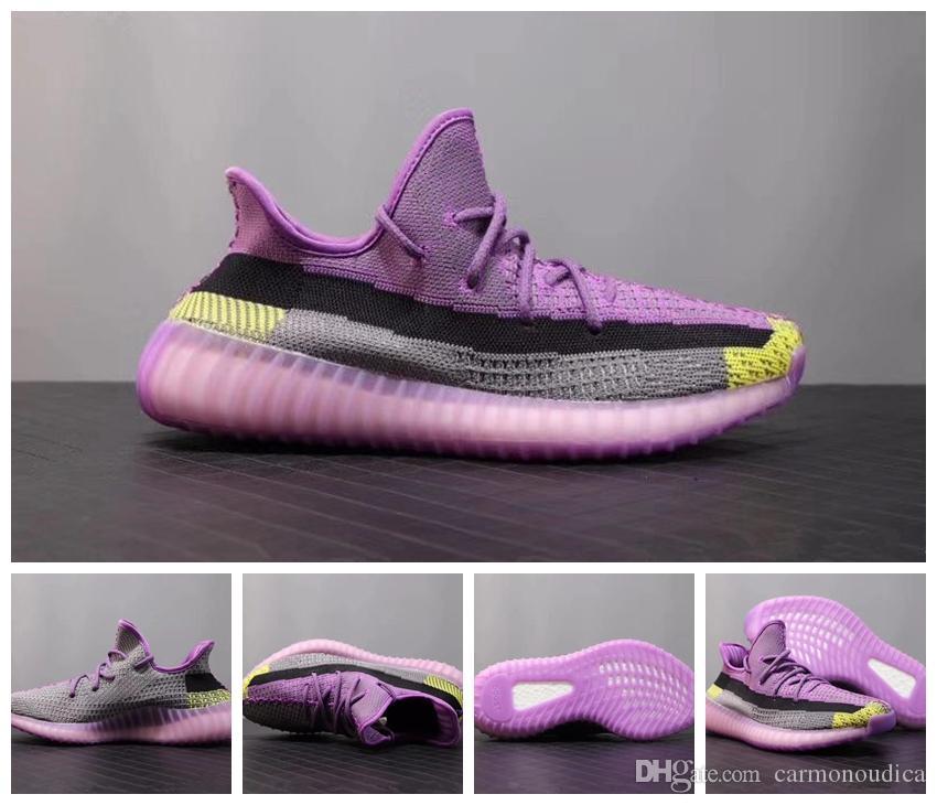 ADIDAS 2020 Kanye West zapatos para correr diseñador de arcilla blanca de la beluga estáticas cebra mujeres de los hombres Zapatos de la zapatilla zapatillas US5.5-12