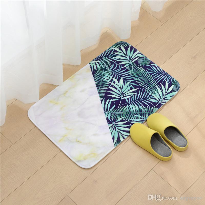 Animais bonitos tapetes para quarto de banho Sala de estar Cozinha Quarto Doormat Início tapete do assoalho Tapetes Jogar Capacho 004