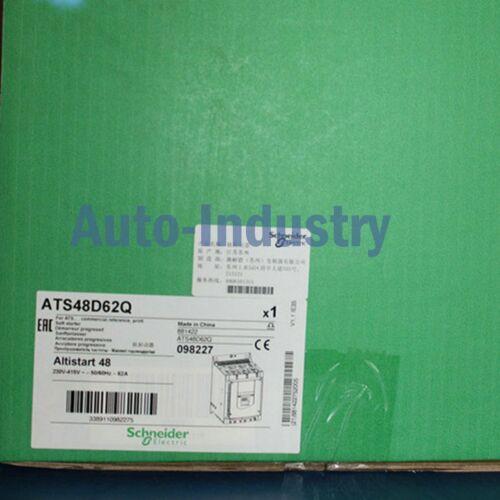 1PC Novo na caixa Schneider ATS48D62Q Um ano de garantia ATS48D62Q entrega rápida