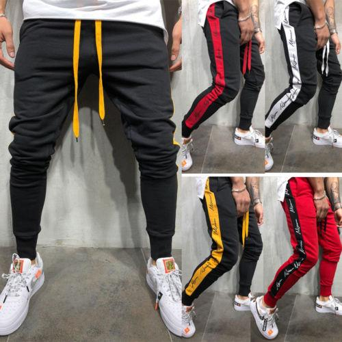On Clearance new styles authentic quality 2018 Mens Gym Slim Fit Trousers Tracksuit Bottoms Skinny Joggers Sweat  Track Pants Men Casual Trousers Male Clothing From Baica, &Price; |  DHgate.Com