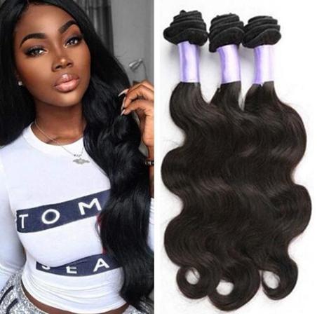 Brazilian Hair Extensions Natural Black Peruvian Malaysia Indian Virgin Hair Bundles Body Wave Human Hair Weave