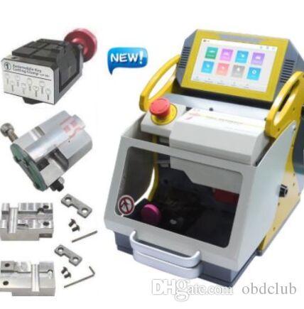 DHL free shiping Top Original SEC-E9 Automatic Car Key Making Machine Laser Key Cutting Machine For Sale 2020 New Key Duplicator
