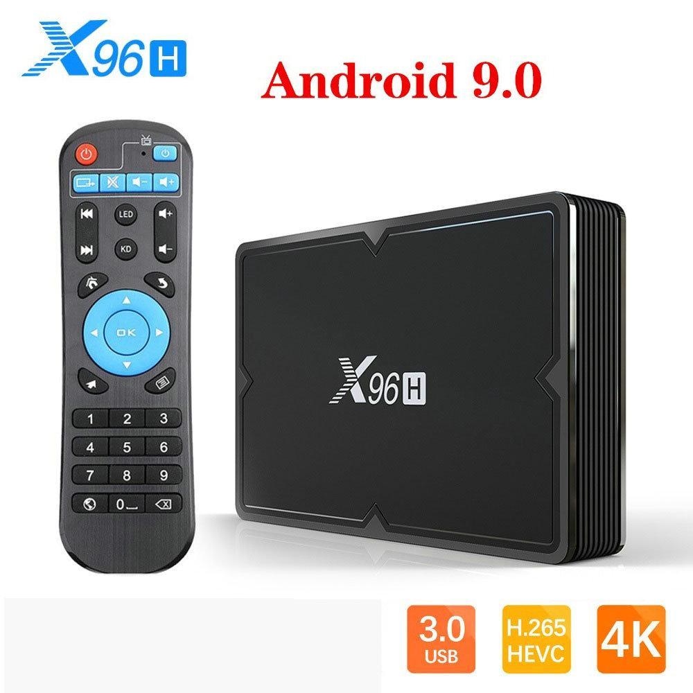 New X96H Android TV Box Allwinner H603 2GB 16GB Dual HDMI Android 9.0 TV Box Support WIFI Bluetooth Set-top-box PK X96 MINI