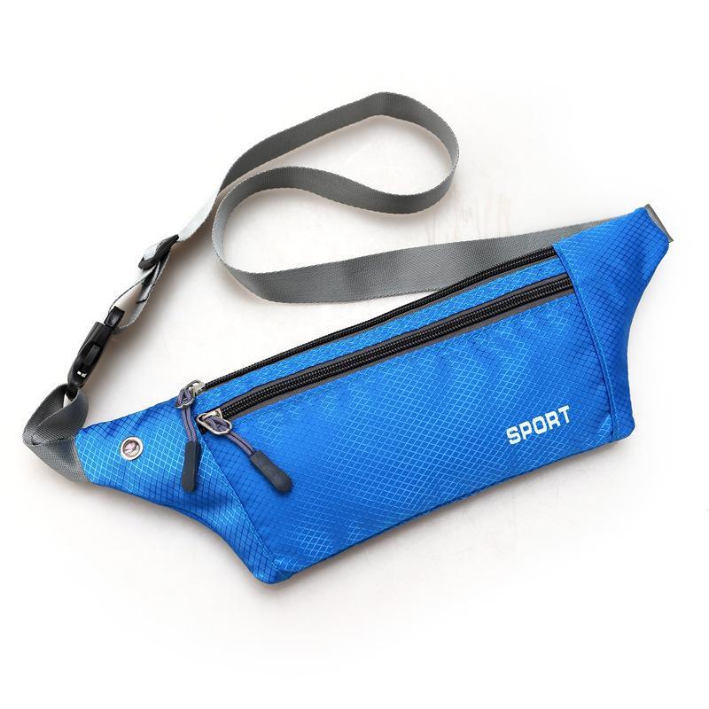 Cyclisme Zipper Sports de plein air cadeau étanche Portable multifonction Randonnée Courir Sac taille
