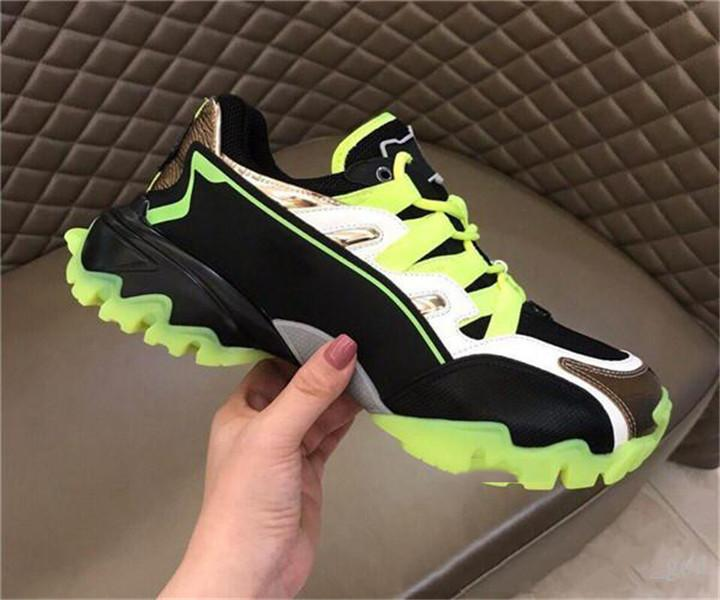 Valentino 2020 Designer Homens sneakers climber em couro reais hococal VLOGO borracha sapatos de grife exclusiva de luxo tecido de alta qualidade com o original