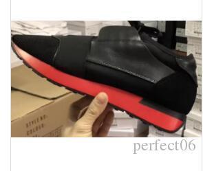 Tasarımcı Sneakers Unisex Zapatos Mujer Yarış Koşucu Ayakkabı Adam Kadın Rahat Ayakkabılar Hakiki Deri Örgü sivri burun Eğitmenler redbottom eur35-46