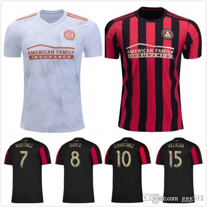 2020 2019 Mls Soccer Jerseys 19 20 Atlanta United Fc 10 Almiron 7 Martinez Home Red Soccer Shirt 2019 Away White 3rd Black Football Uniform From Xiekewei2013 13 48 Dhgate Com