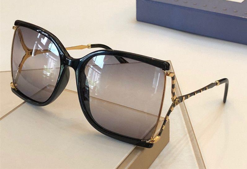 نظارات شمسية مصمم فاخرة للنساء 2592 شعبي الأزياء ساحة الصيف نمط مع النحل أعلى جودة عدسة حماية الأشعة فوق البنفسجية تأتي مع القضية