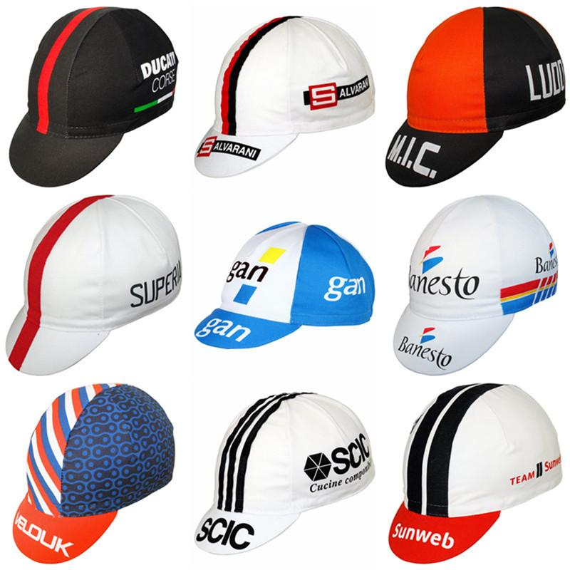 2020 New Cycling Caps Be elastic Free Size Bicycle Headwear Cycling hat summer lightweight bike cap Gorra Ciclismo hombres