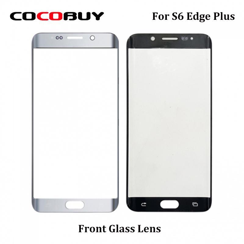 10 PCS Ori новый Замена Outer стекла для Samsung Galaxy S6 края плюс G928F ЖК-дисплей с сенсорным экраном Внешний Переднее стекло объектива