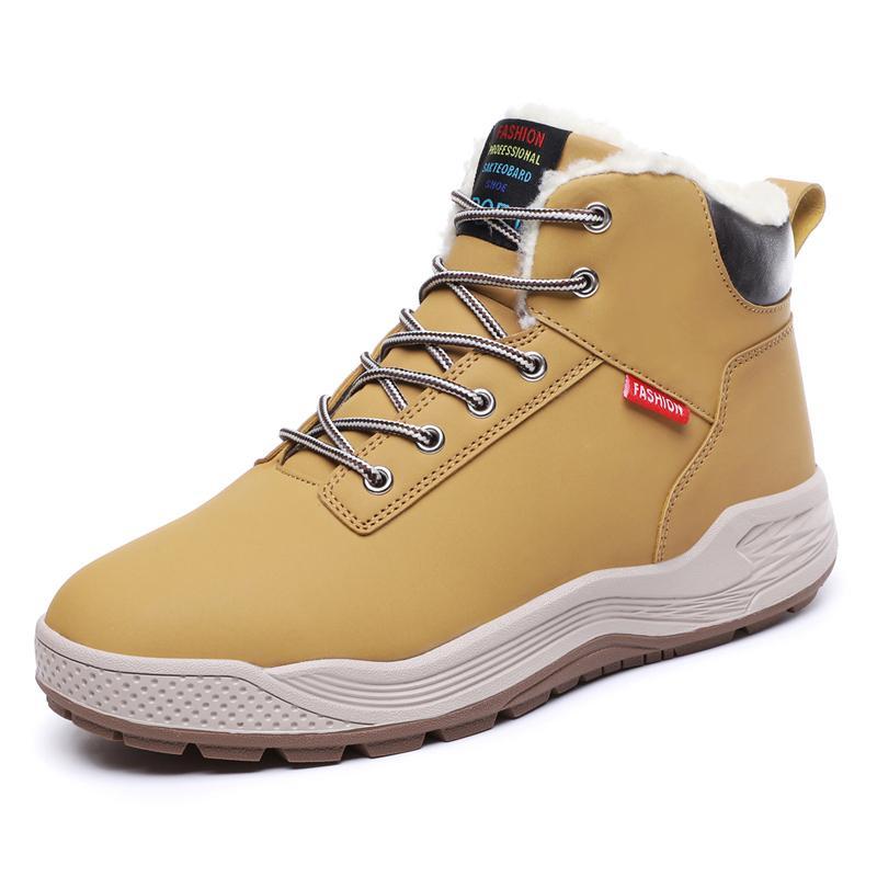 Men Winter Boot Shoes Plush Warm Snow Boots for Men Plus Size Men's Sneakers Casual Botas Hombre Male Ankle Boots 39-48 Size