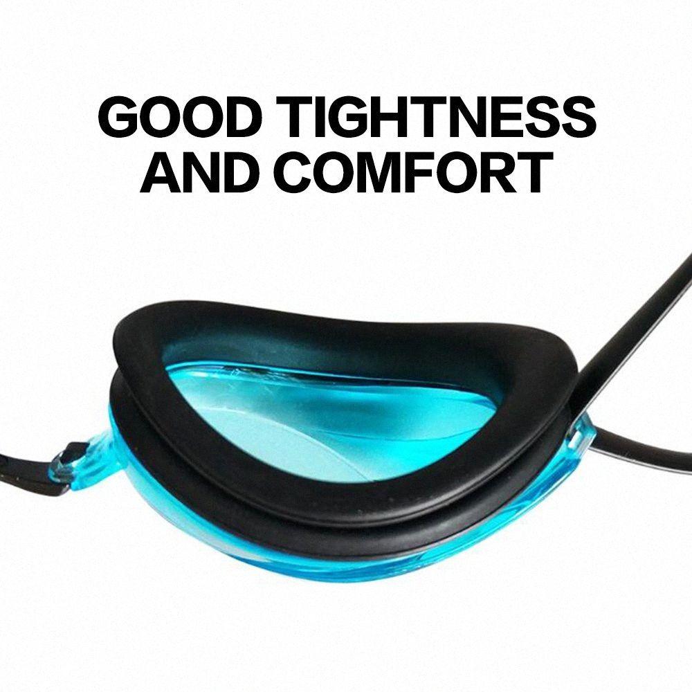 Соревнования по плаванию гонки Специальные очки Водонепроницаемые Плавание Водный спорт Anti-туман плавать очки для Унисекс Мужчины Женщины очки 200-1013 nE3K #