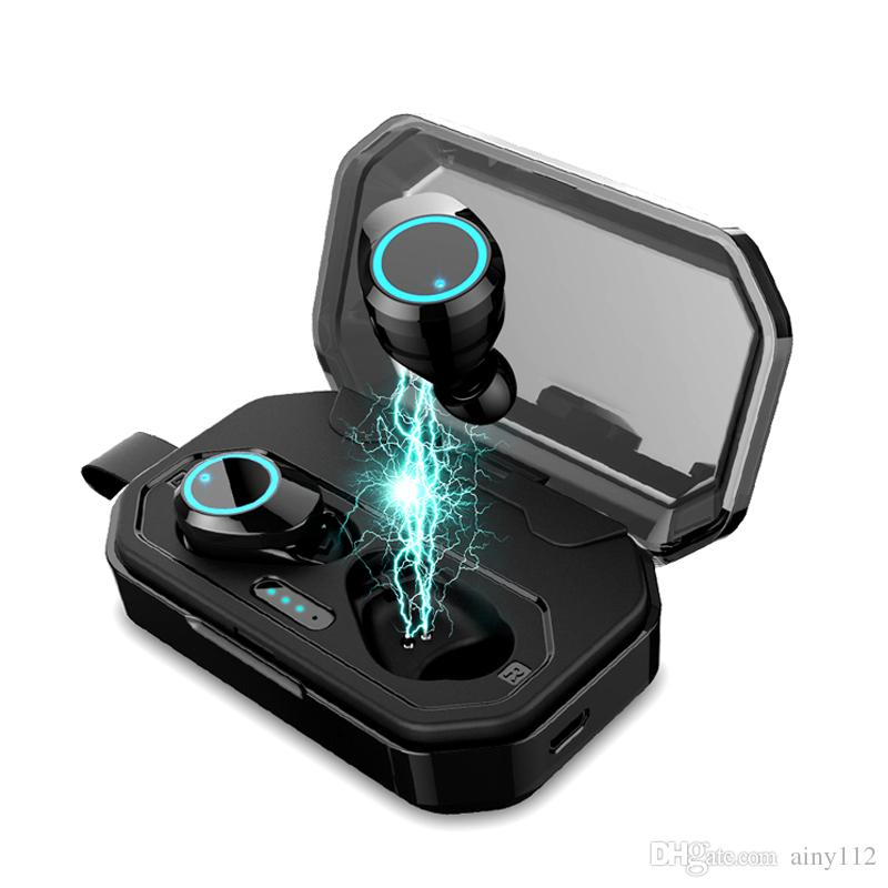 X6 TWS Bluetooth Earphones True Wireless Stereo Earbuds Waterproof IPX7 Bluetooth 5.0 Headset HD Portable Headphone With 3000mah Charge Case