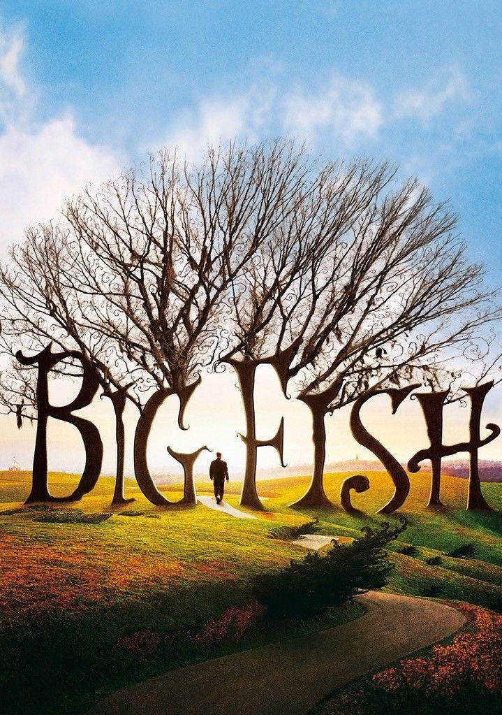 BIG FISH Movie Film 2003 Tim Burton Ewan McGregor Textless Art Silk Print Poster 24x36inch(60x90cm)