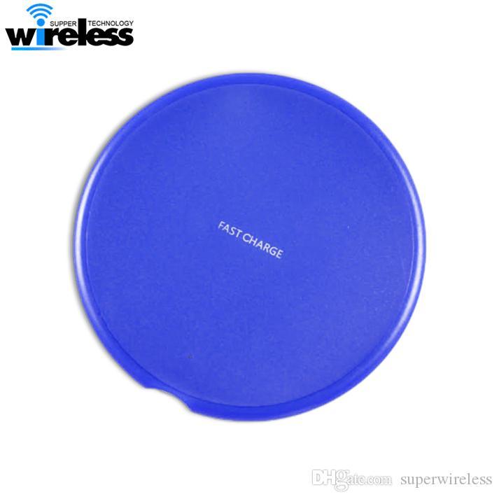 Turno Qi Fast Charger Wireless per 11 Pro pad di ricarica Max X 8 Plus Wireless per Samsung S9 S10 Nota 10 9 caricabatterie