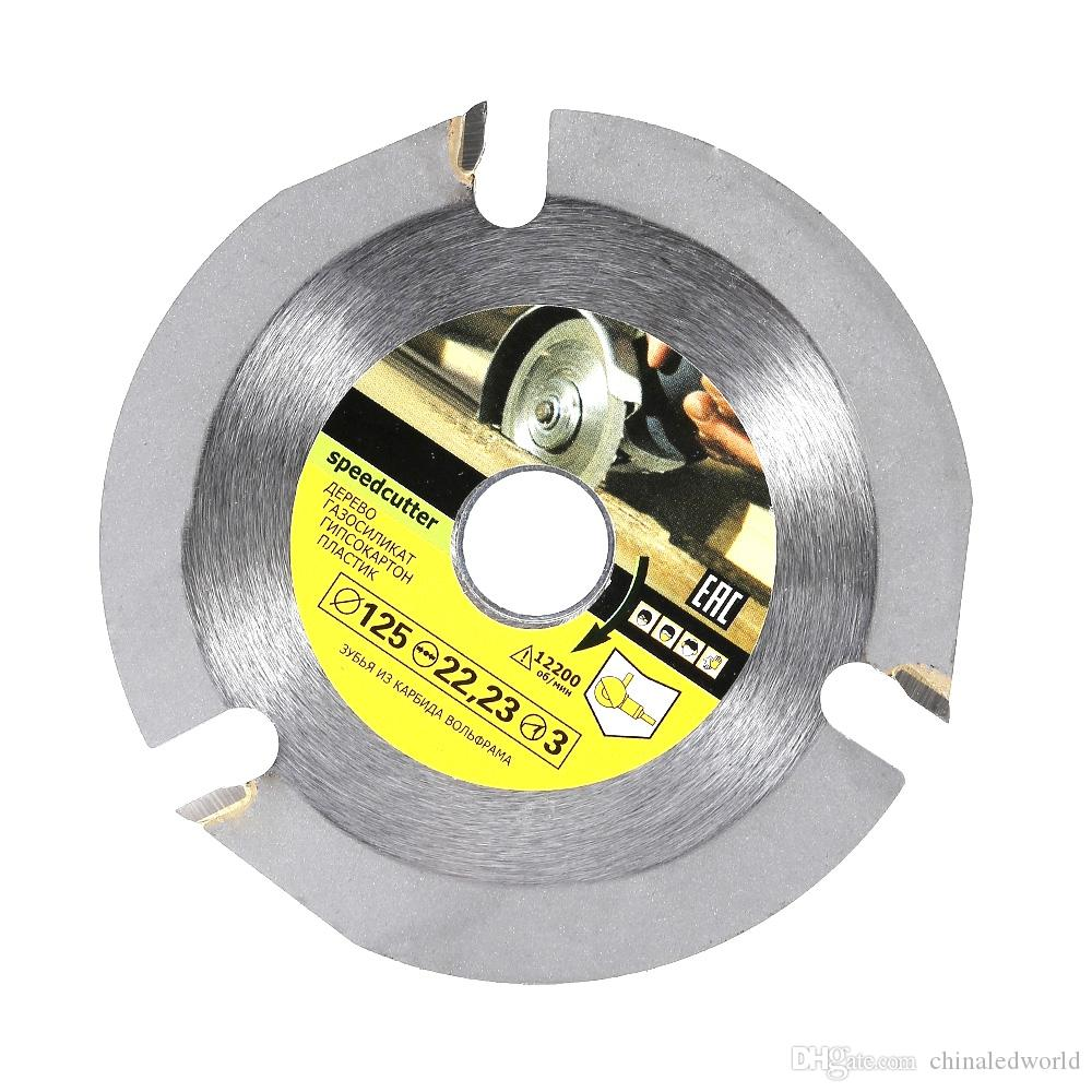 125mm 3T Circular Saw Blade Multitool Grinder Wood Cutting Tool