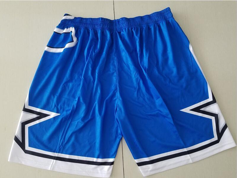 2 Tarafı Cepler Giyim Sihirli Mavi Renk Boyut S-XXL Running İle Yeni Şort Takım Şort MN Vintage Beyzketbol Şort