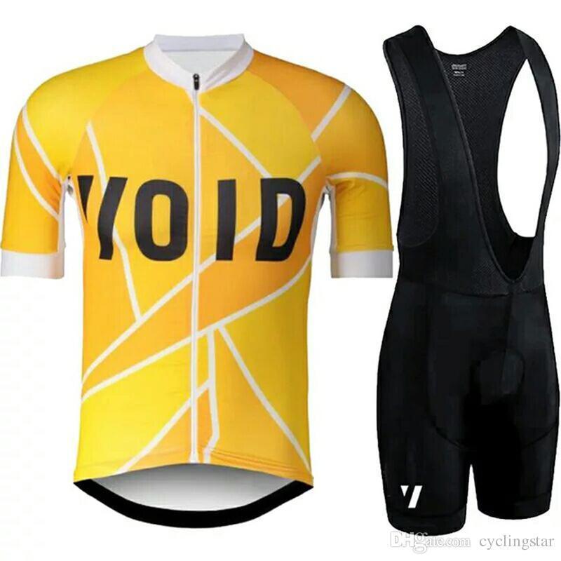 새로운 VOID 프로 팀 사이클링 저지 정장 여름 통기성 도로 자전거 의류 세트 남성 레이싱 자전거 의류 MTB 로파 Ciclismo Y040903