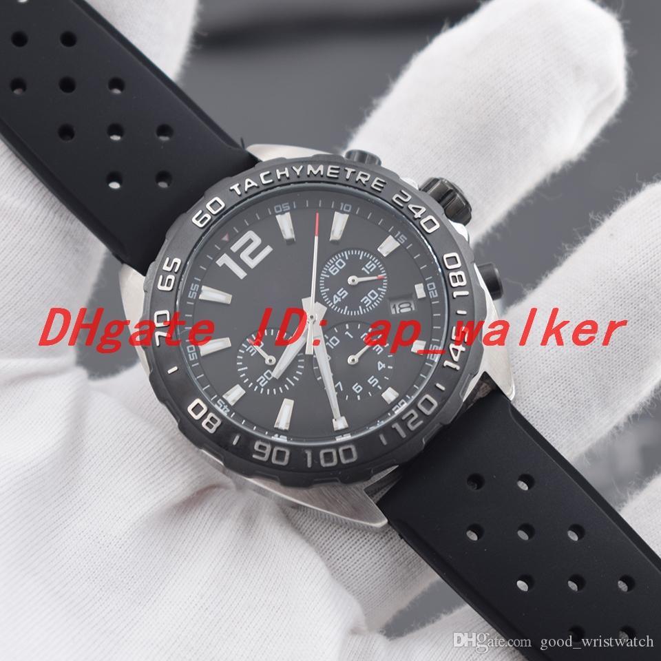 Новые спортивные часы серии Racing с батарейным кварцевым механизмом Chronograph All Work Male WristWatch
