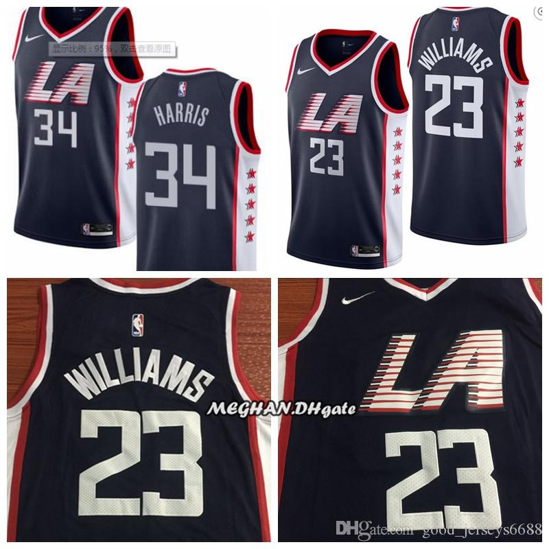 new style c091d 318f4 2018 Hot Sale 2019 Men Los Angeles Basketball Clippers Jerseys 34 Paul  Pierce 23 Lou Williams City Edition ALL Stitched Jerseys From  Best_jersey001, ...