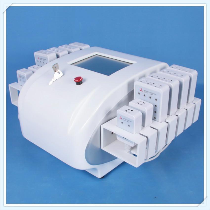 2020 Nueva máquina de belleza adelgazante de lipolaser 12 almohadillas Lipo láser para quemar grasa Sistema de contorno de diodo de lipolaser contorneado delgado en oferta