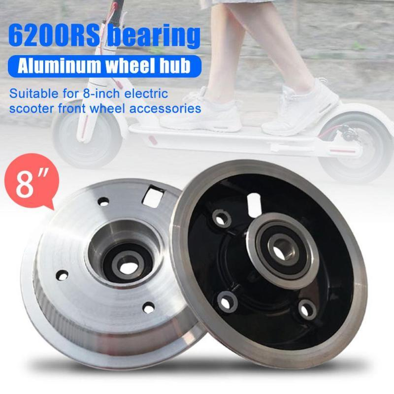 8 inch Wheel Hub For Electric Scooter 200*50 Pneumatic Tires Wheel Hubs with 6200 Bearing Front Wheels Tires Accessories 1Pc