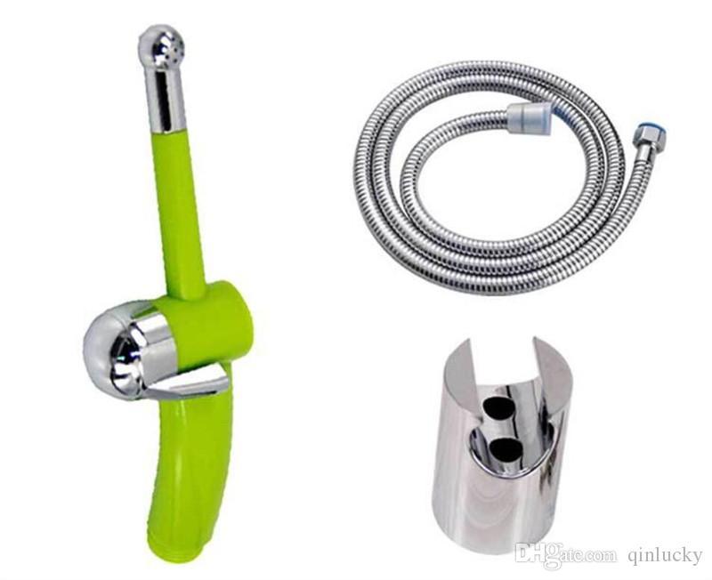 1m High Pressure Water Saving Function Spray Handbook For Chrome Hand Bidet Toilet Faucets