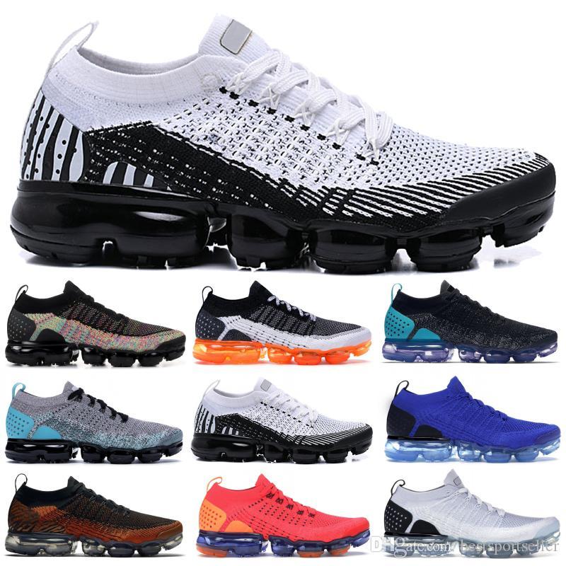 Männer Frauen 1.0 Laufschuhe Fliege 2.0 Triple Black BHM Metallic Gold Wolf Grey White Walking Fashion Stylist Sneakers
