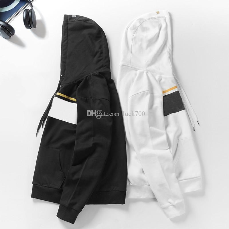 de 19FW célèbre Hoodie Sweatshirts Mode Impression haute qualité Hommes Femmes Sweats à capuche Couples Chemise à manches longues Taille M-2XL