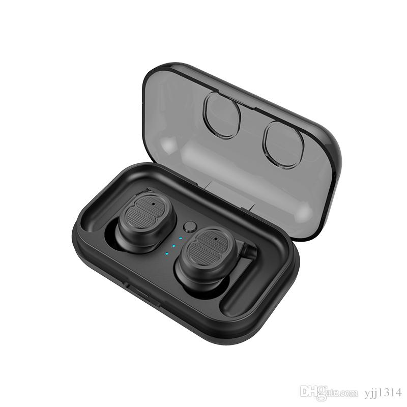 One piece TWS-8 wireless Bluetooth Earphone headset true earbuds bass bluetooth5.0 stereo 3d headset with Charging Box
