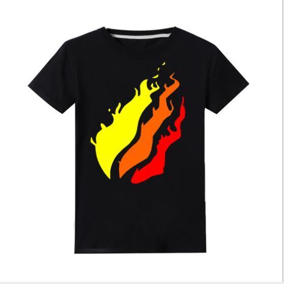 2020 nouvelle vêtements pour enfants commerce électronique populaire Preston Playz 100% des enfants de coton T-shirt transfrontalier