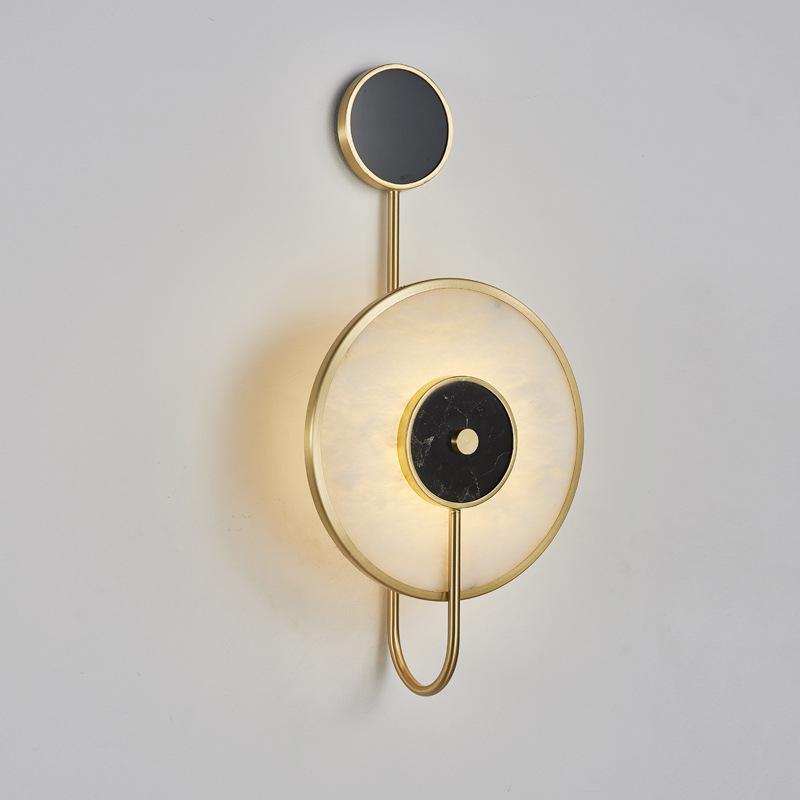 divan çalışmada Avize tarafından Stil İskandinav postmodern mermer başucu duvar lambası sanatı oturma odası
