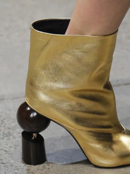 a0cadeb183 Italian Black White Gold High Heel Mid-calf Boots Party Dress Boots For  Women Block Heel Women Winter High Short Fashion
