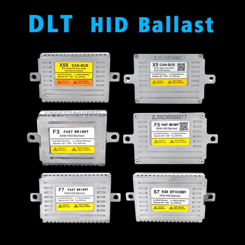 SKYJOYCE 1 Pair DLT HID Ballast 12V 24V 35W 55W 70W Fast Bright DLT F3 F5 F7 S7 T5 HID Ballast X3 X5 X35 X55 Canbus