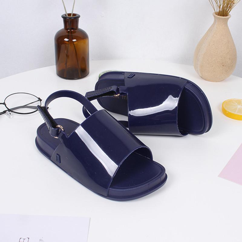 Nuevos niños Playa de diapositivas sandalia 2020 jalea chica chispa sandalias del verano de los zapatos de los niños lindos playa de las sandalias los zapatos del niño SO009