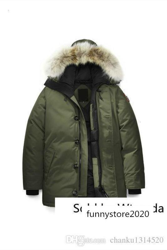 Men/women Long Winter Can-chateau-p2 Down Parkas Hood/snowdome Jacket Brand Real Raccoon Collar White Outerwear & Coats