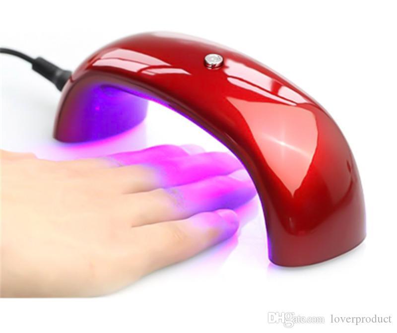 Nouveau Mini LED Sèche-Ongles Sèche-Ongles Lampe Nail Art Gel LED Photopolymérisable Machine De Sécheur