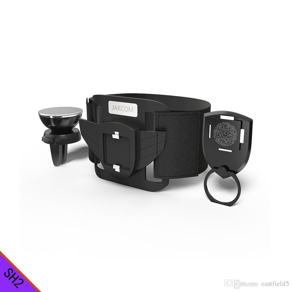 JAKCOM SH2 Smart Holder Set Venta caliente en los titulares de soportes de teléfono celular como teléfono móvil accesorio teléfono móvil desbloqueado xiomi