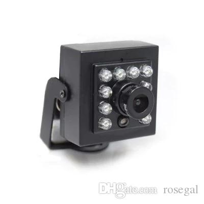 720P IR CUT Mini IP Camera POE IP Smallest Night Vision H62 Network 940NM LED 3.6MM Lens With External POE Securiy