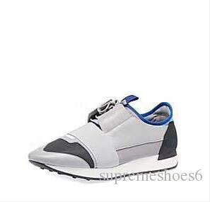 Nuove scarpe da ginnastica di marca maglia dei pattini di trasporto di goccia popolare marca casual scarpe della donna degli uomini della scarpa da tennis di modo di colori misti Red Nude Mesh Trainer A2