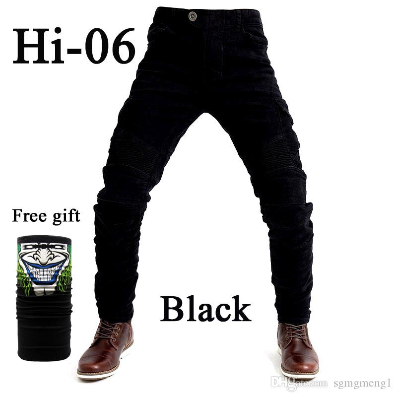 Motorcycle jeans 2018 new UBS-06 jeans men protection equipment moto pants UBS-06 racing