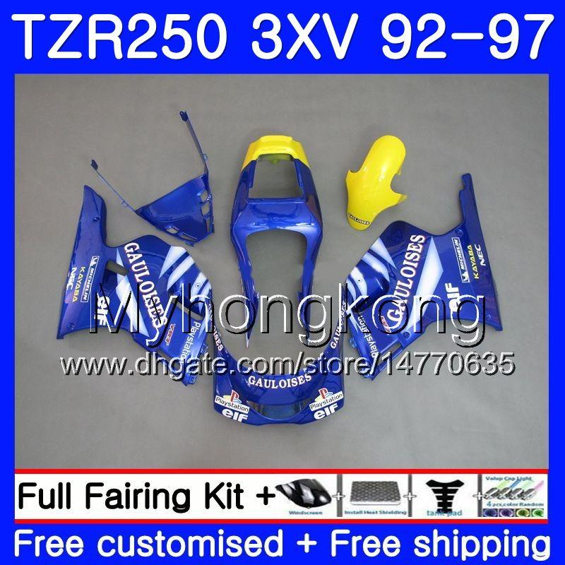 Yamaha TZR 250 3xV Blue Go !!! 핫 ypvs tzr-250 92 93 94 95 96 97 245hm.8 Tzr250rr rs Tzr250 1993 1994 1994 1995 1996 1997 페어링