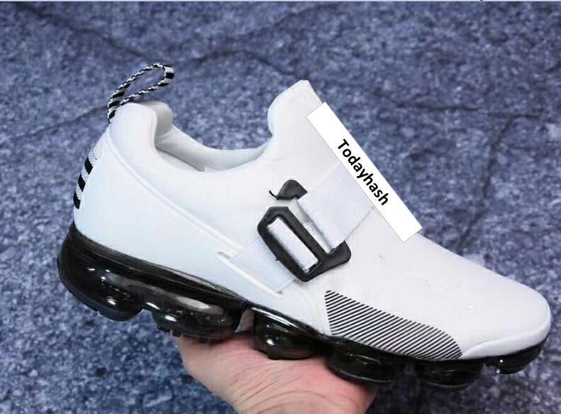Acheter Moc 2020 Chaussures De Marque Hommes Femmes Laceless Desingers 2 Triple Université Noir Blanc Esprit Rose Entraîneur 2019 Chaussures De Course
