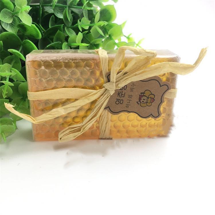 Neuesten Frauen und Männer Handgemachte Seife, ätherisches Öl Seife, reine Gesichts-Honig Seife, natürliche ganze Körper feuchtigkeitsspendende und reinigende Seife 5033