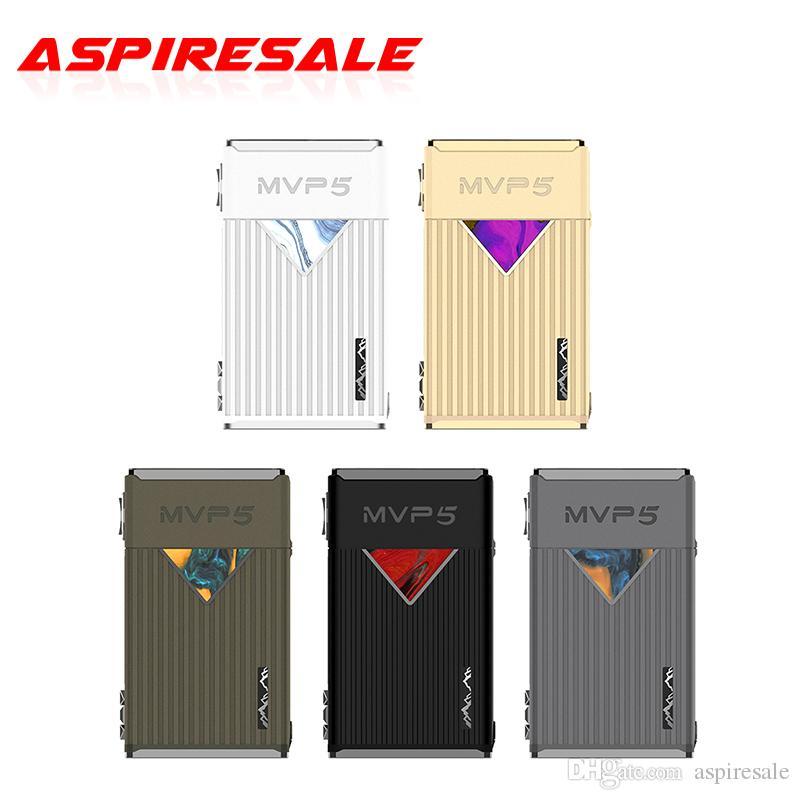 Auténtica Innokin MVP5 120W TC Caja MOD 5200mAh grande y 1,14 pulgadas de pantalla de color vivo con la interfaz de usuario fácil de usar