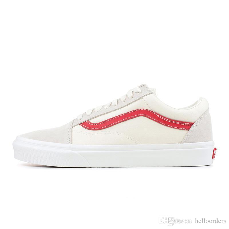 vans blancos old skool