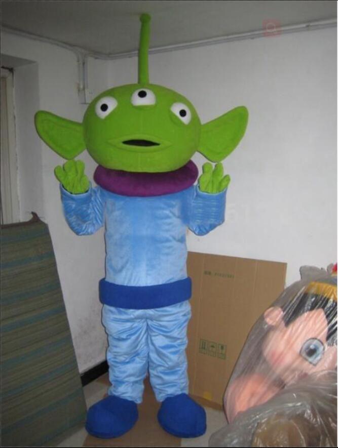 Профессиональный пользовательский внеземной инопланетный костюм талисмана мультфильм Монстр животное характер одежда Хэллоуин фестиваль фантазии платье