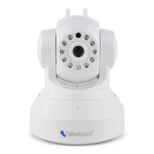 VStarcam C37-AR Dual-Antennen-720P Smart Alarm Wireless IP-Kamera ONVIF RTSP-Protokoll IR-Nachtsicht - Weiß