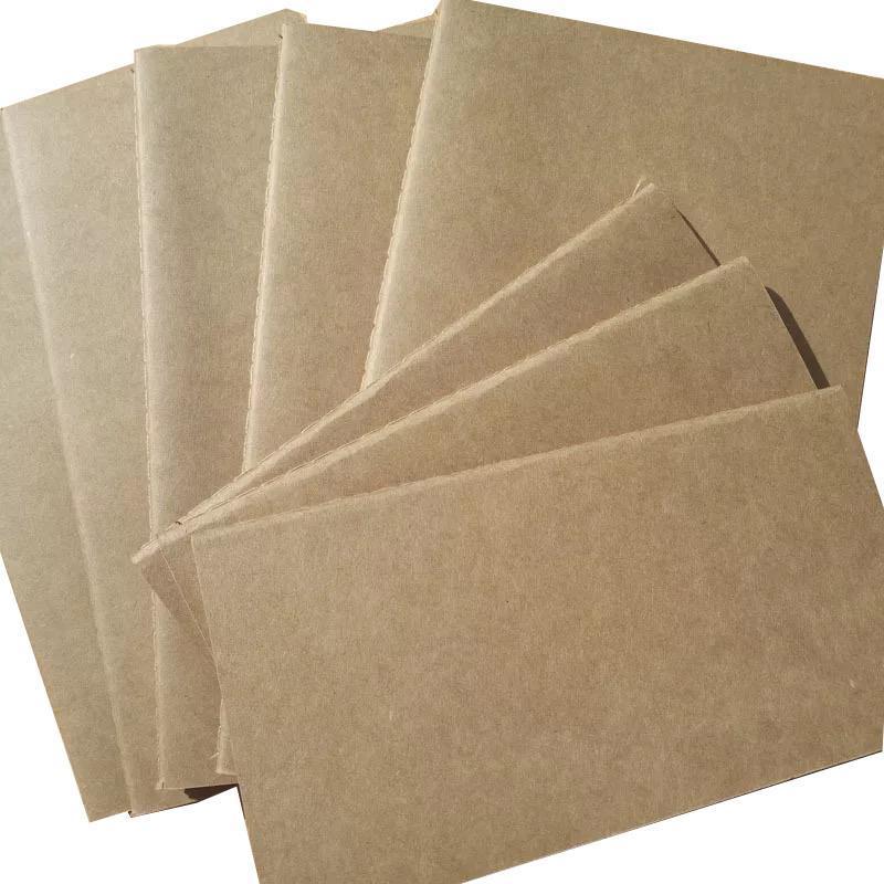 A6 ورقة دفتر الملاحظات فارغة المفكرة كتاب خمر دفتر المذكرات اليومية لينة كرافت أجهزة الكمبيوتر المحمولة غطاء مجلة المفكرة